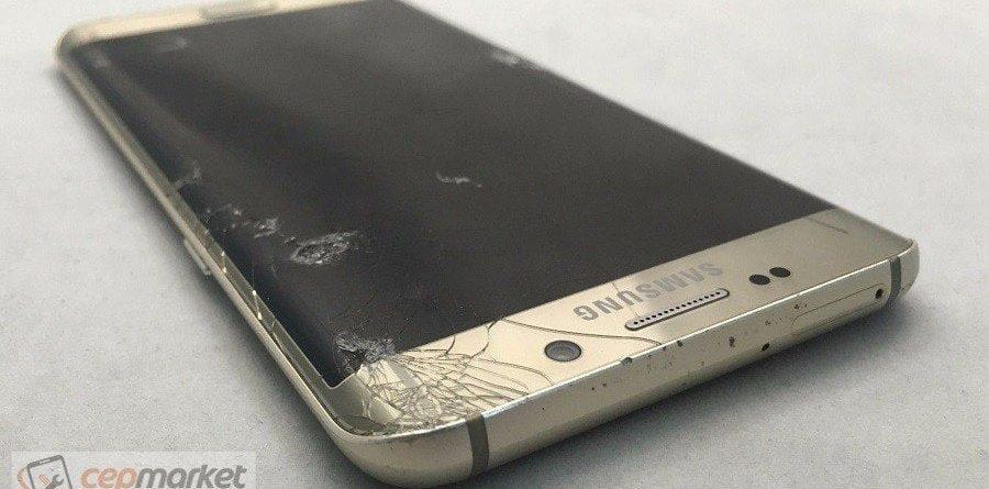 Samsung S6 Edge Plus Ekranı Kırıldı