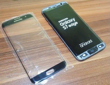 Samsung S7 Edge Cam Değişimi