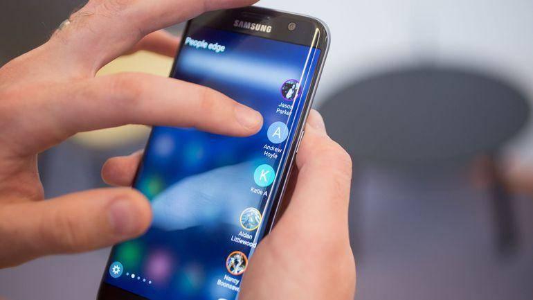 Samsung Edge Dokunmatik Değişimi