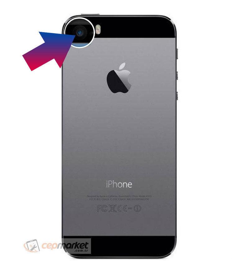 iPhone 5s Arka Kamera Camı Değişimi