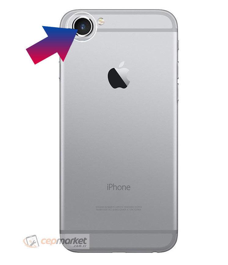 iPhone 6 Arka Kamera Camı Değişimi