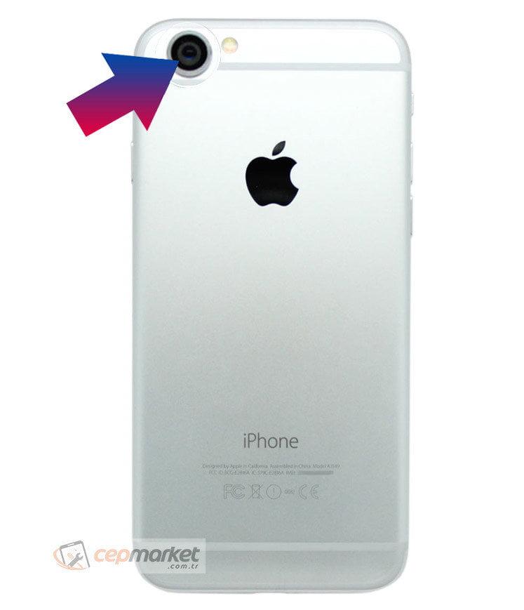iPhone 6s Plus Arka Kamera Camı Değişimi