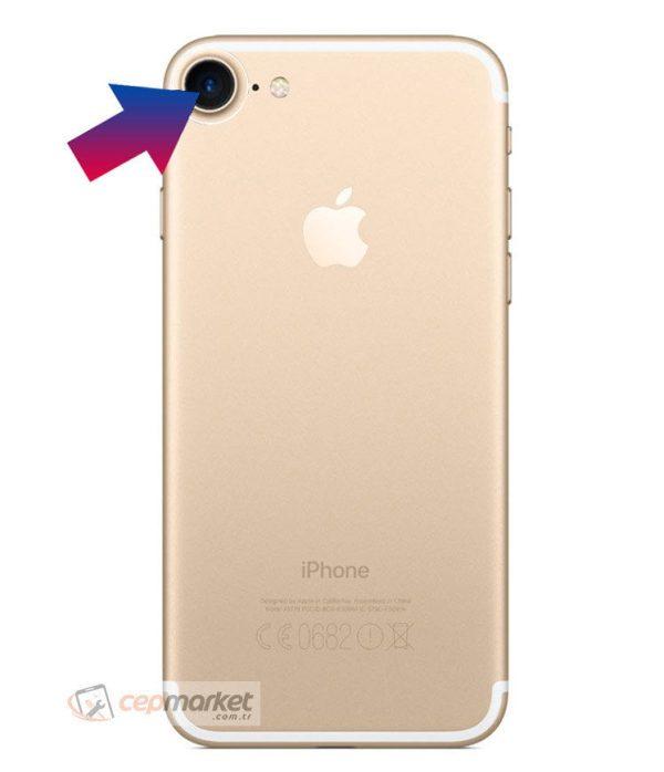 İPhone 7 Arka Kamera Camı Değişimi