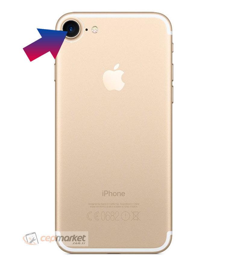 iPhone 7 Arka Kamera Camı Değişimi