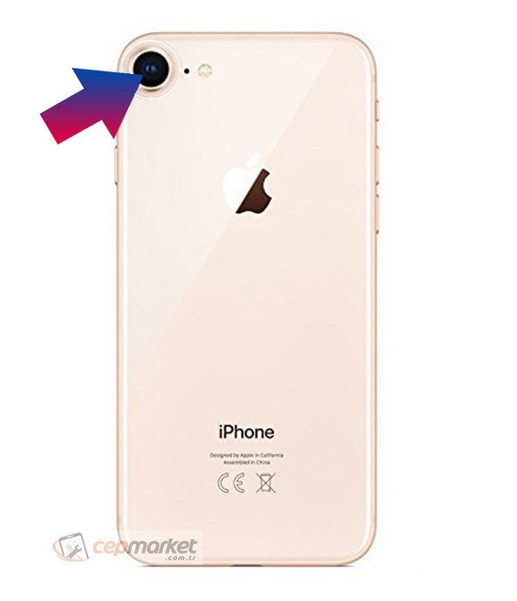 iPhone 8 Arka Kamera Camı Değişimi
