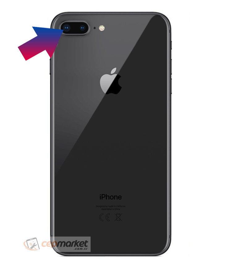 iPhone 8 Plus Arka Kamera Camı Değişimi