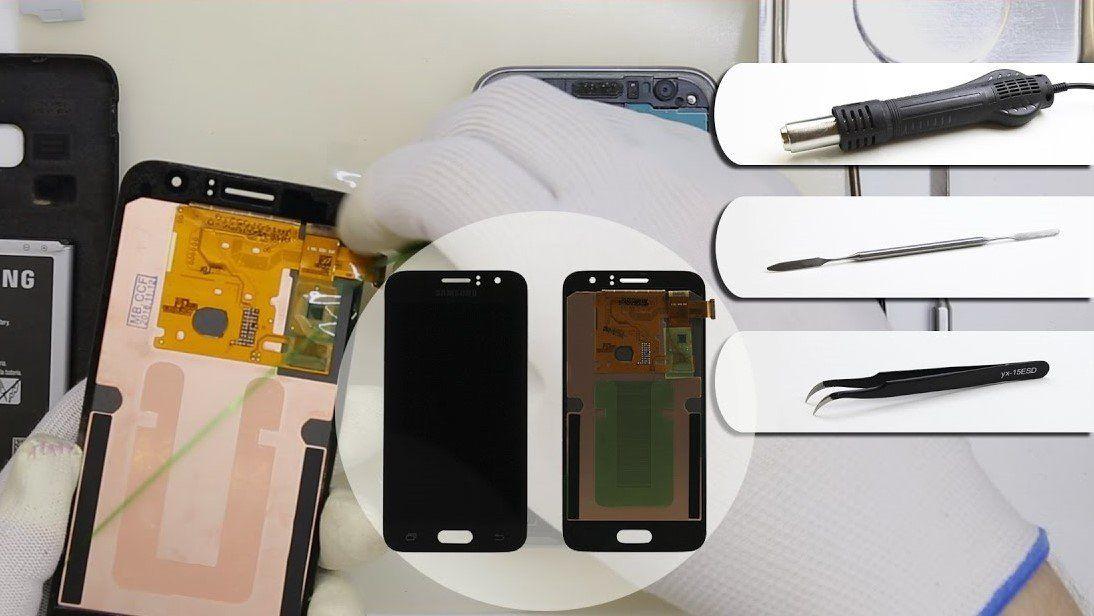 Samsung J1 2016 Ekran Değişimi