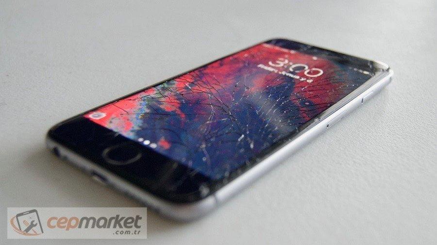 iPhone Ekranın Yarısı Çalışmıyor