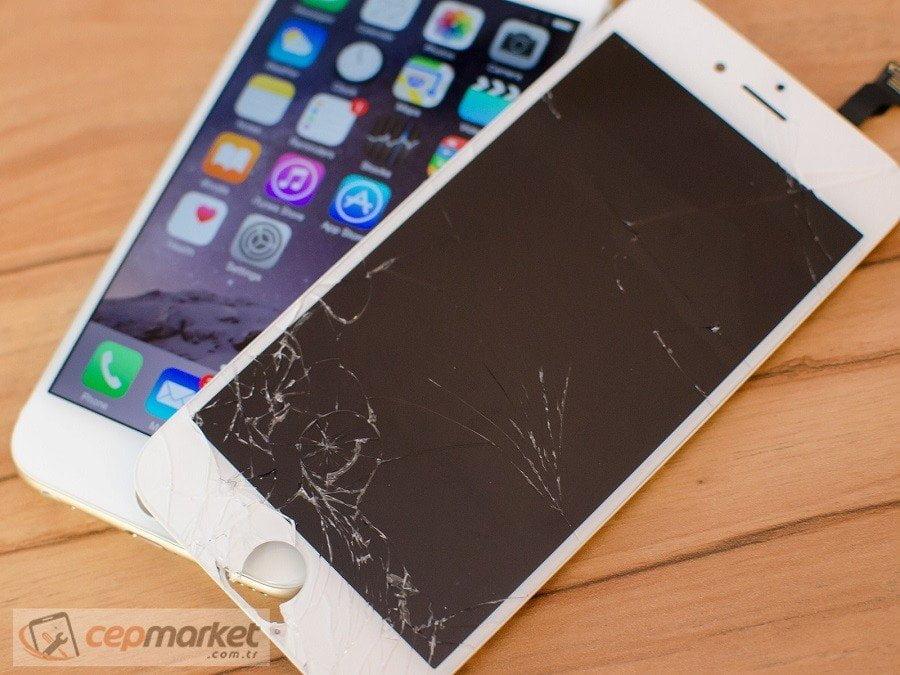 iPhone Ekranı Sağlamsa Cam Değiştirin
