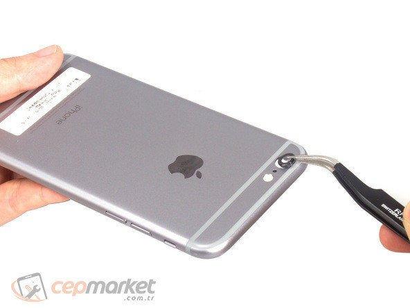 iPhone Kamera Camı Kırıldı