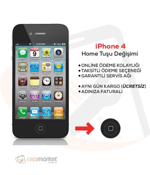 iPhone 4 Home Tuşu Değişimi