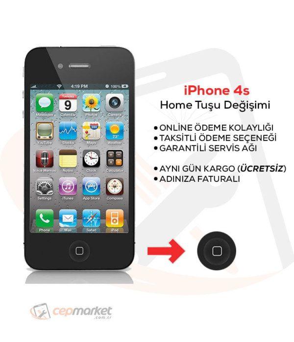 iPhone 4s Home Tuşu Değişimi