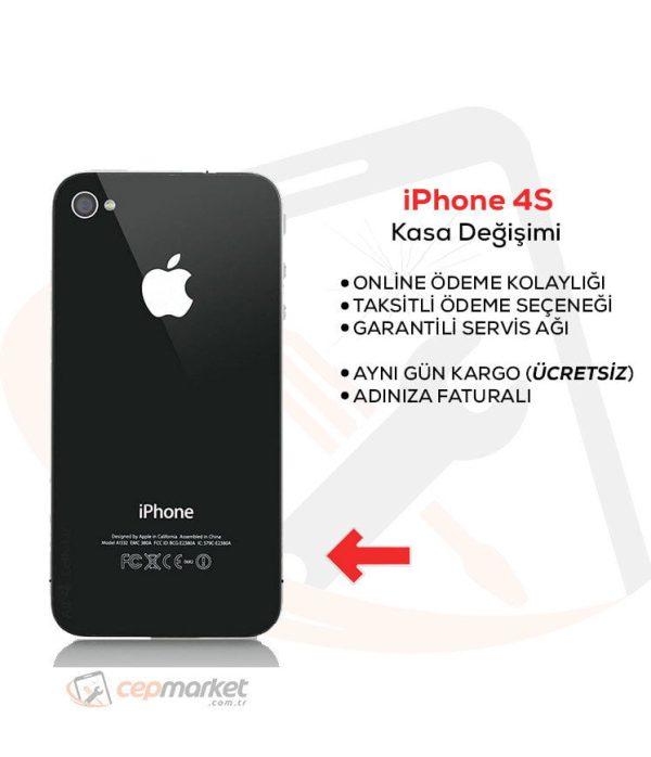 iPhone 4S Kasa Değişimi