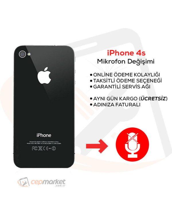 iPhone 4s Mikrofon Değişimi