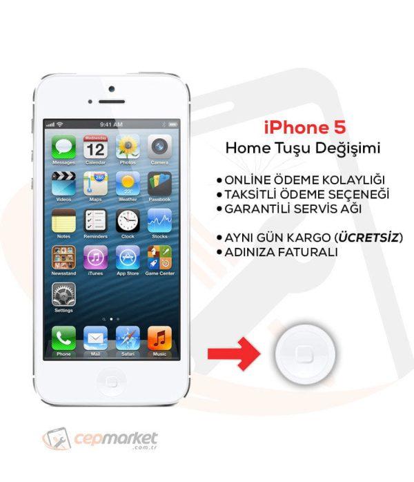 iPhone 5 Home Tuşu Değişimi