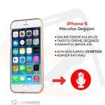 iPhone 5 Mikrofon Değişimi