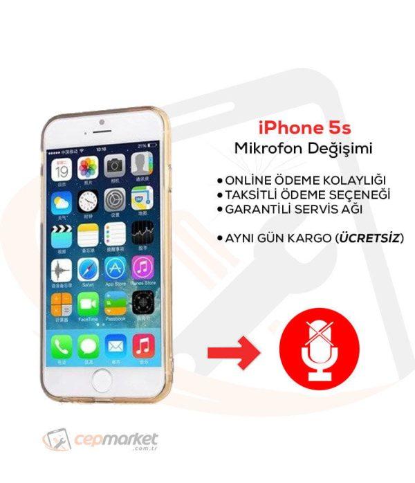 iPhone 5s Mikrofon Değişimi