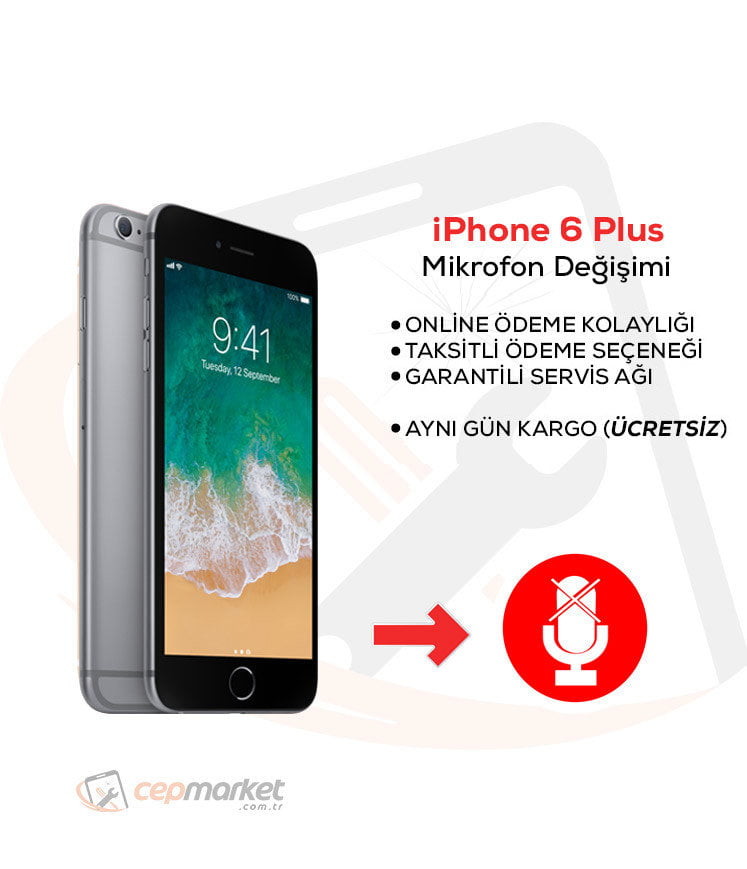 iPhone 6 Plus Mikrofon Değişimi