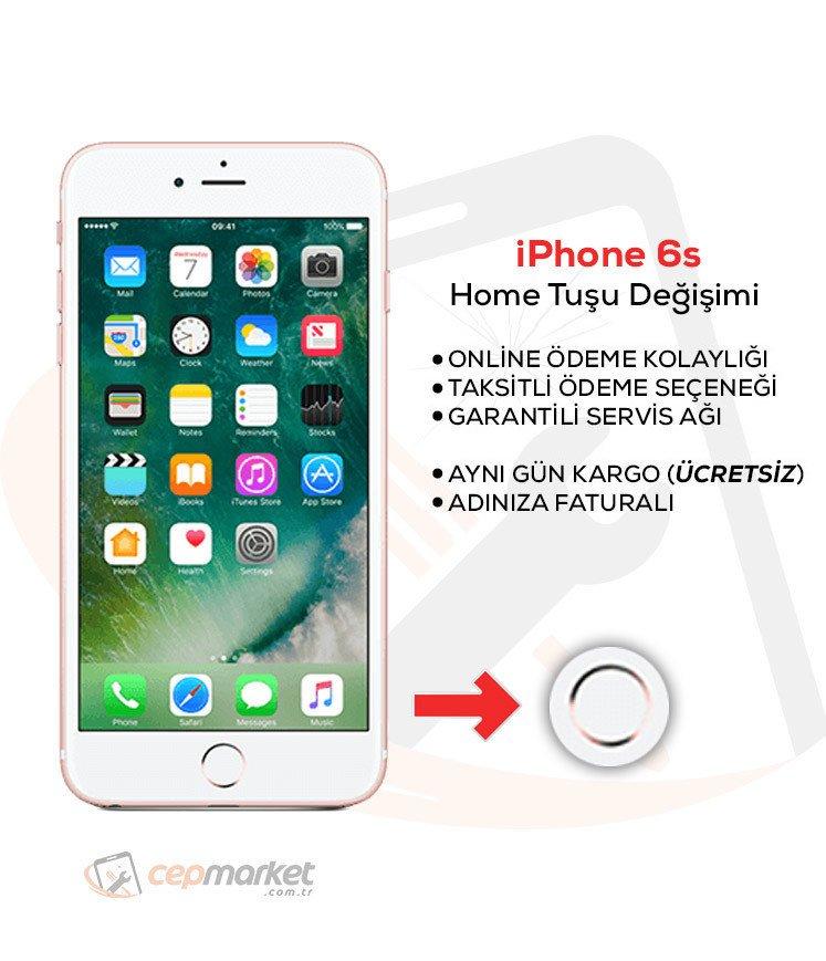iPhone 6s Home Tuşu Değişimi