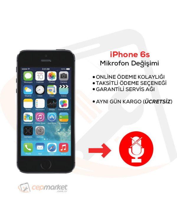 iPhone 6 Mikrofon Değişimi