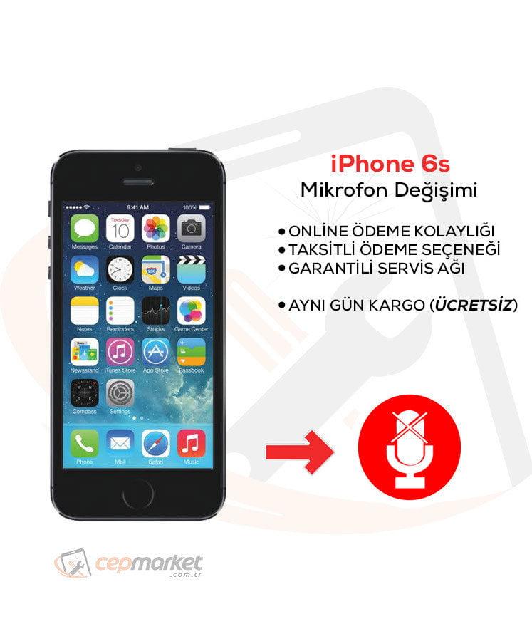 iPhone 6s Mikrofon Değişimi