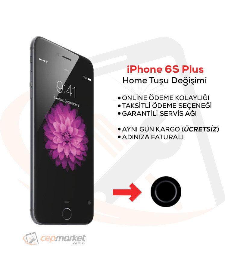 iPhone 6S Plus Home Tuşu Değişimi