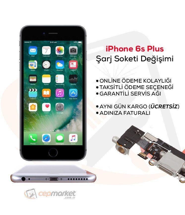 iPhone 6s Plus Şarj Soketi Değişimi