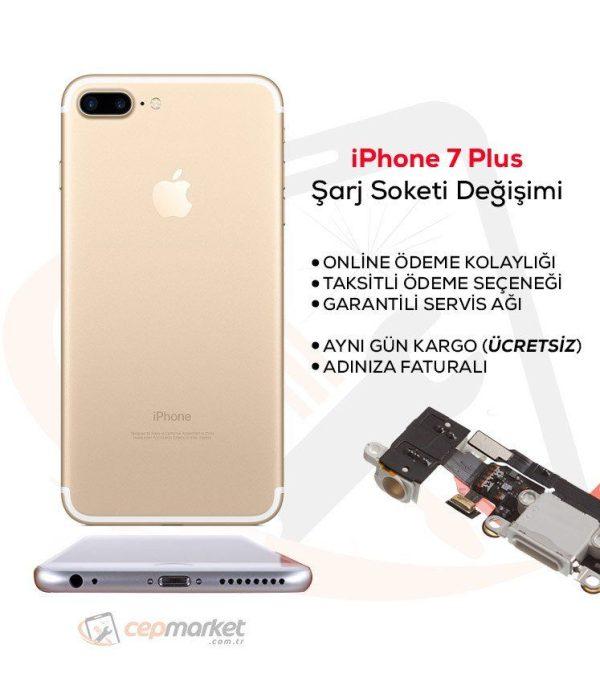 iPhone 7 Plus Şarj Soketi Değişimi