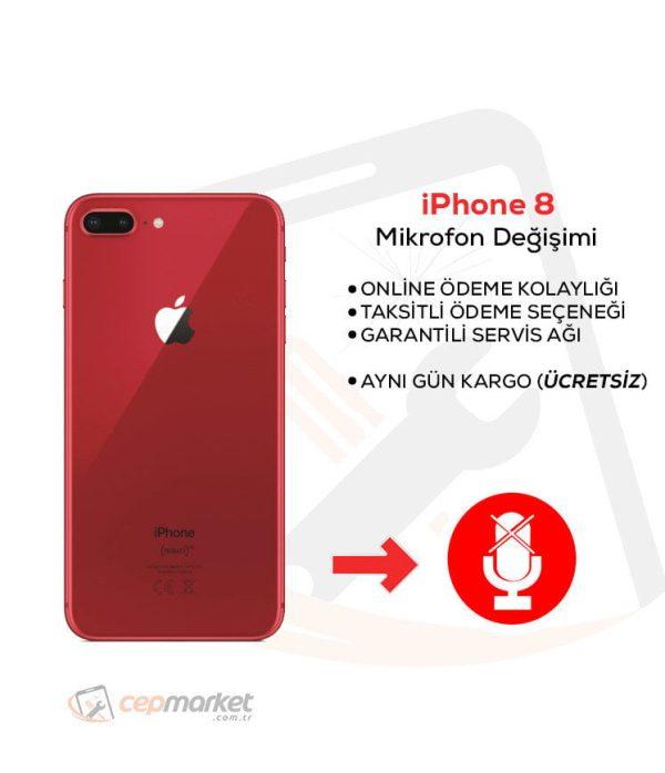 iPhone 8 Mikrofon Değişimi