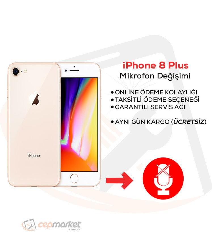 iPhone 8 Plus Mikrofon Değişimi