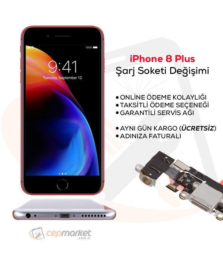 iPhone 8 Plus Şarj Soketi Değişimi