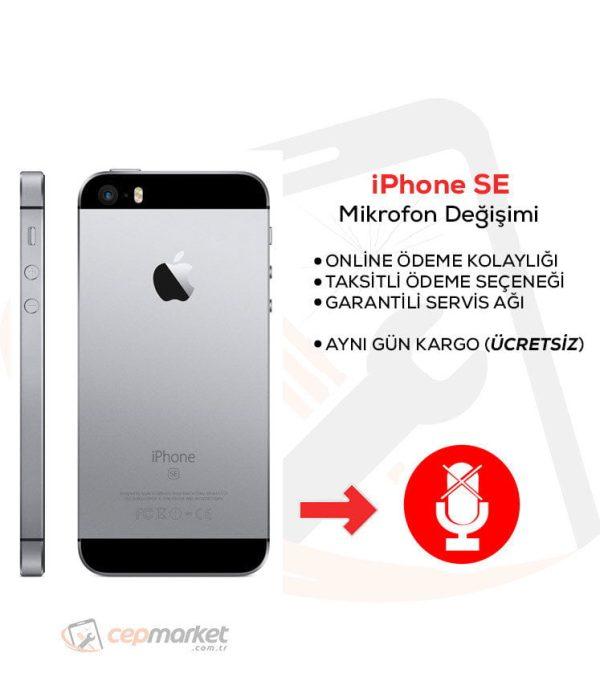 iPhone SE Mikrofon Değişimi