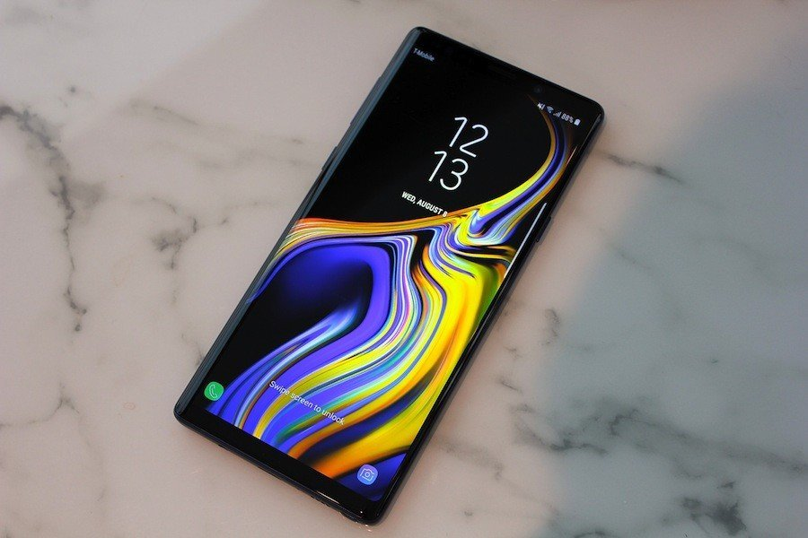Galaxy Note 9 Amoled Yanığı