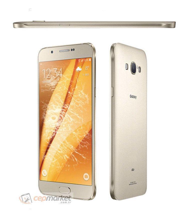 Samsung Galaxy A8 2015 Gold Ekran Değişimi