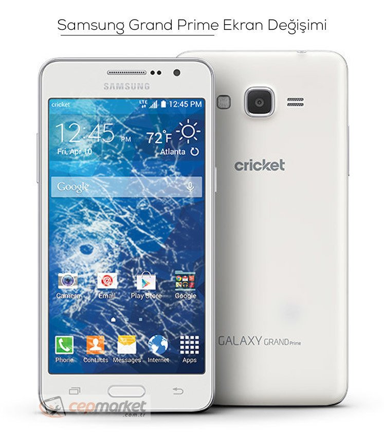 Samsung Grand Prime Ekran Değişimi
