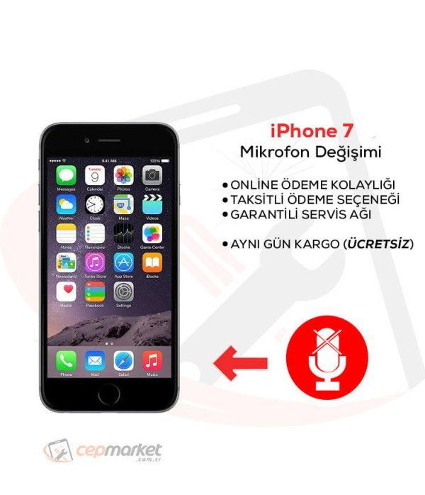 iPhone 7 Mikrofon Değişimi