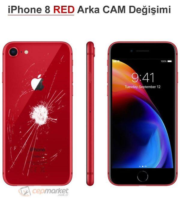 iPhone 8 RED Arka Cam Değişimi