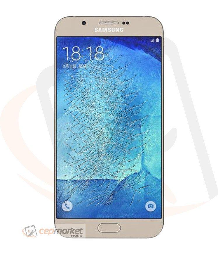 Samsung A8 2015 Gold Ekran Değişimi