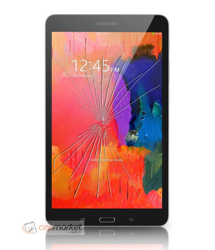 Samsung Galaxy Tab T320 Cam Değişimi