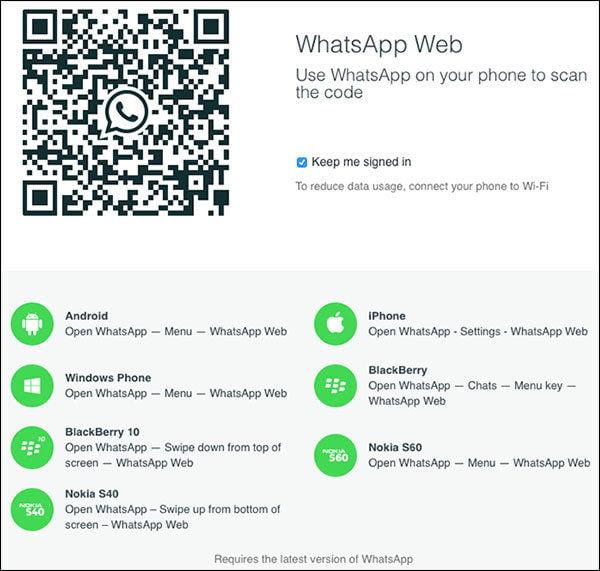 iPhone WhatsApp Web Nasıl Kullanılır?
