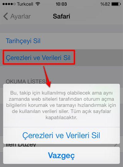 iPhone ve iPad Virüs Temizleme