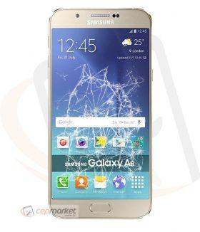 Samsung A8 2016 Ön Cam Değişimi