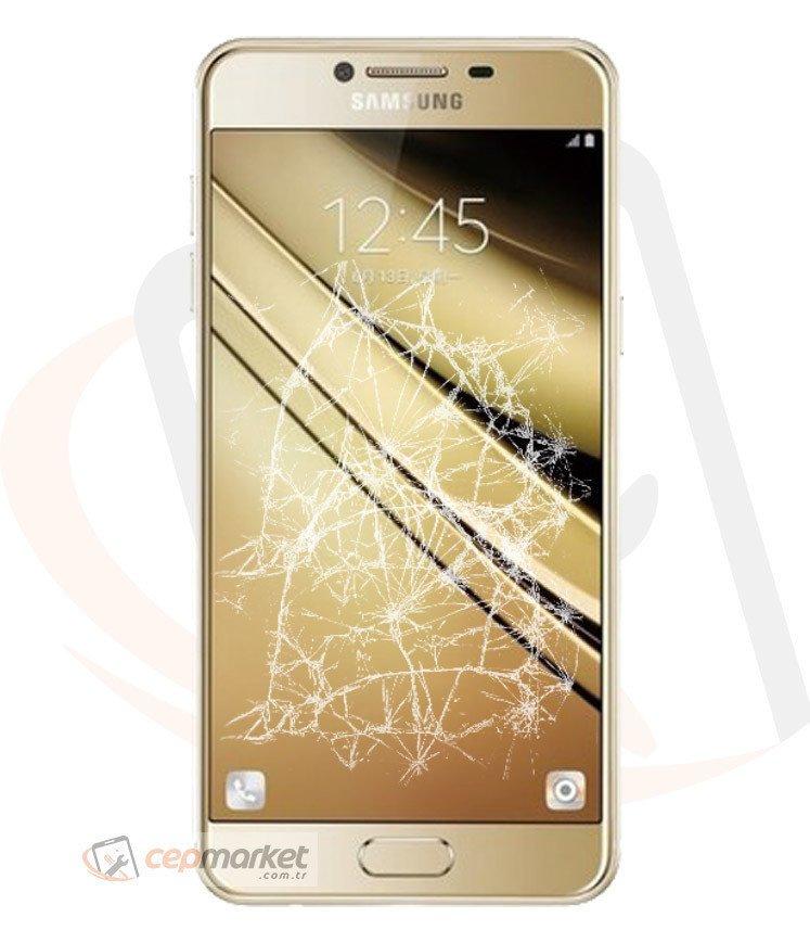 Samsung C7 Pro Ön Cam Değişimi
