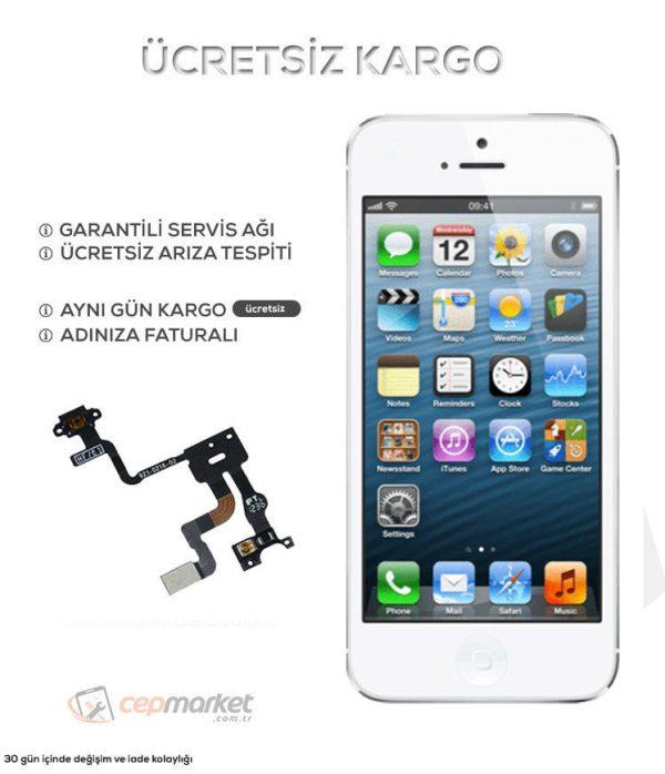 iPhone 5s Açma Kapatma Power Güç Tuşu Değişimi