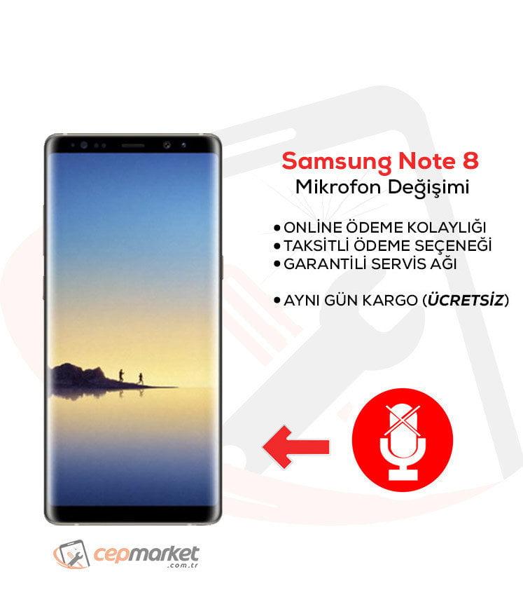 Samsung Galaxy Note 8 Mikrofon Değişimi