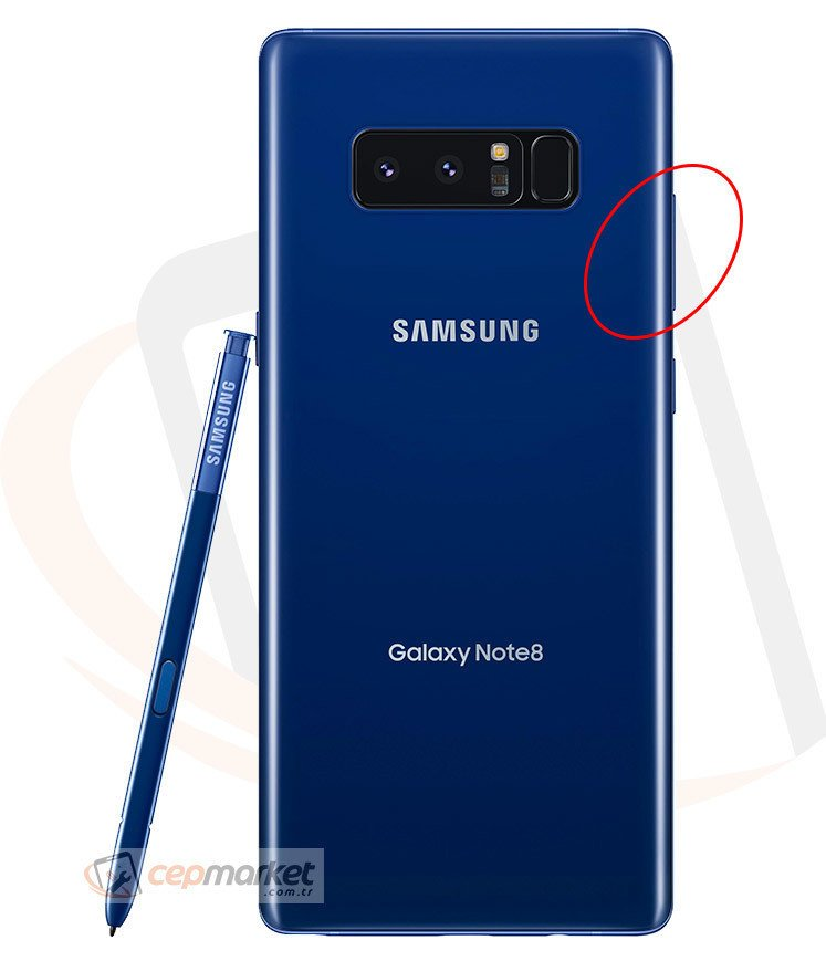 Samsung Galaxy Note 8 Ses Açma Kapatma Tuşları Değişimi
