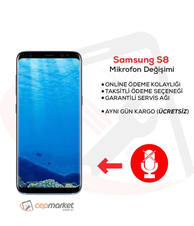 Samsung Galaxy S8 Mikrofon Değişimi