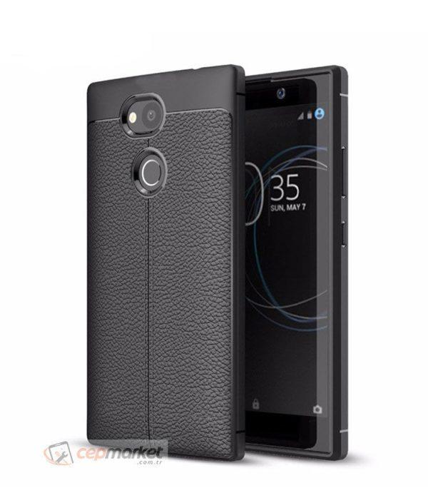 Sony Niss Silikon Kılıf Siyah