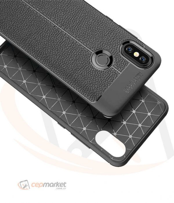 Xiaomi Niss Silikon Kılıf Siyah