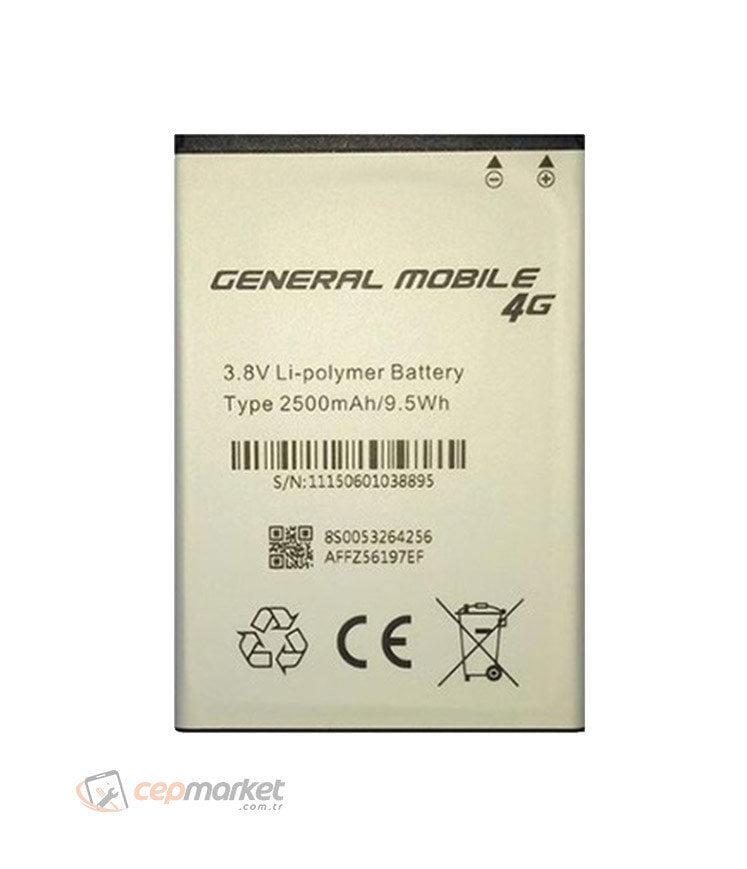 General Mobile GM 8 Batarya Değişimi